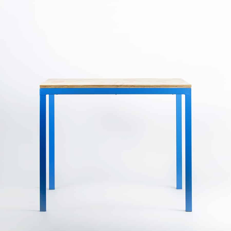 Restaurant Bar Metal Wood Table Maverick