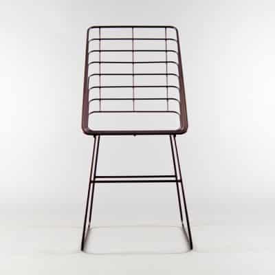 Restaurant Bar Metal Chair Carolina